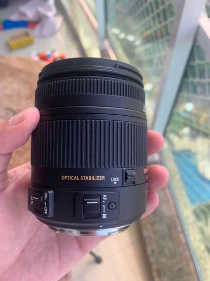 Lente Sigma 18-250mm F/3,5-6 Canon