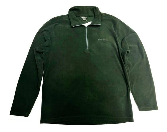 Sueter Eddie Bauer Color Verde Para Hombre 100% Original