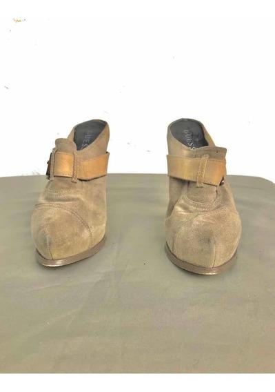 Botinetas Guess Taco Alto Zapatos Calzado