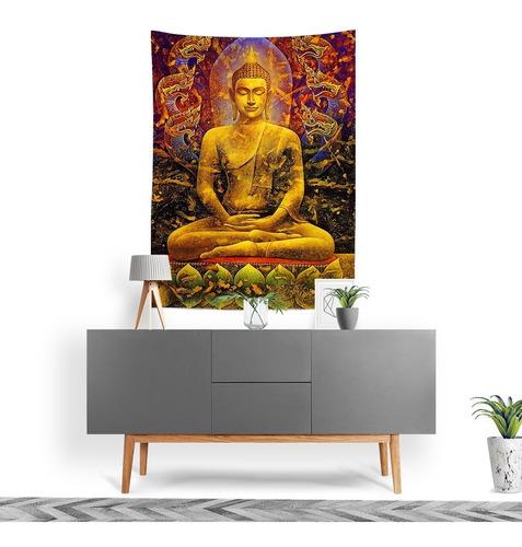 Imagem 1 de 3 de Tecido Decorativo Decoração Tactel Interto Externo Budha