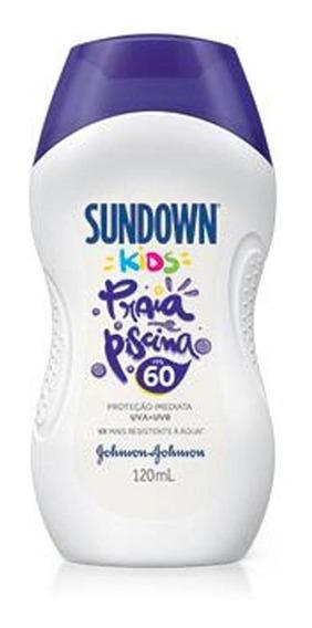 Protetor Solar Sundown Kids Fps 60 120ml
