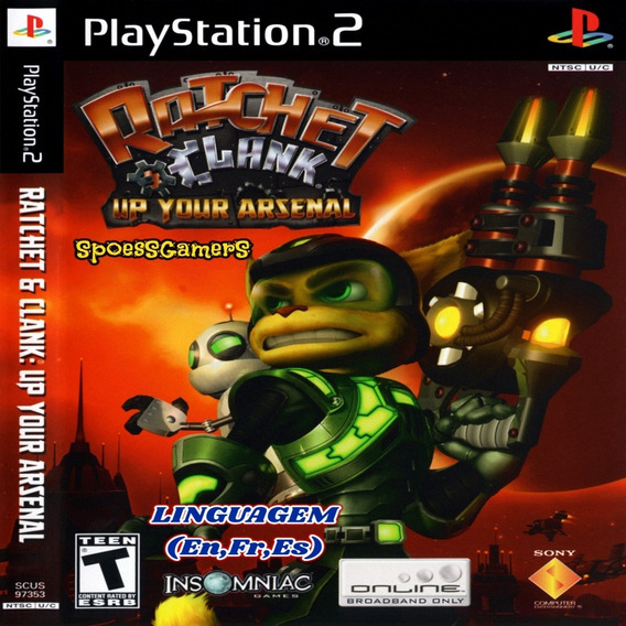 Ratchet & Clank 3 Up Your Arsenal Ps2 Patch , Me