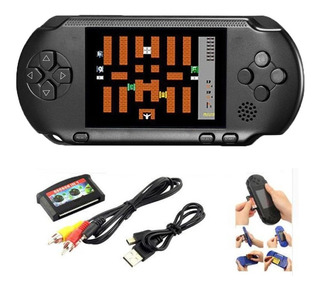 Mini Video Game Psp Fliperama Portátil Conecta Tv Diversos Clássicos Da Nintendo