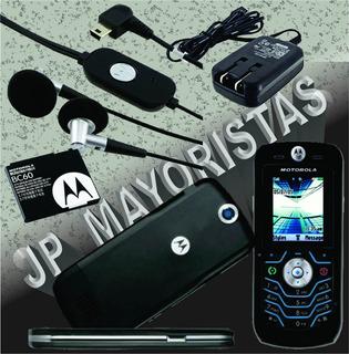 Motorola L6 Black Libre Todo Operador Buen Estado