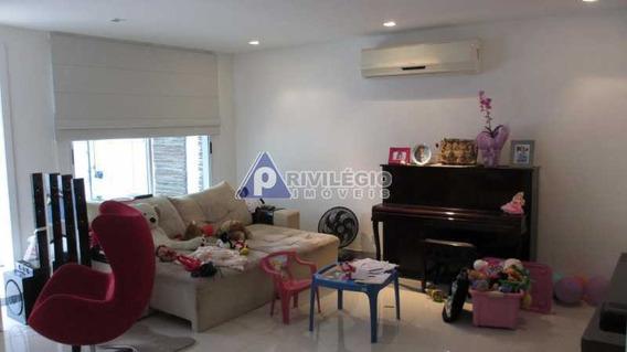 Casa Em Condomínio À Venda, 4 Quartos, 4 Vagas, Recreio Dos Bandeirantes - Rio De Janeiro/rj - 7542