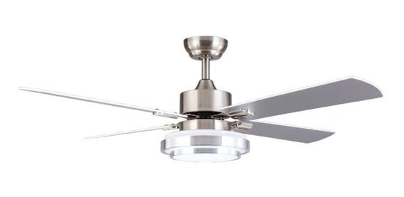 Ventilador De Techo + Luz Led 18w Control Remoto 8723 Timer