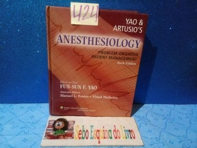 Anesthesiology - Problem-oriented Patient Management(foto...