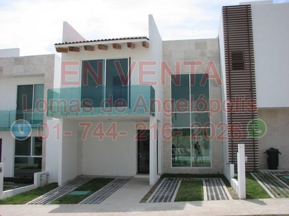 Venta Casa En Vista Marques Lomas De Angelópolis 3rec3bañ 2n