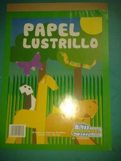 Block De Papel Lustrillo ( Al Mayor Y Detal) Por 3