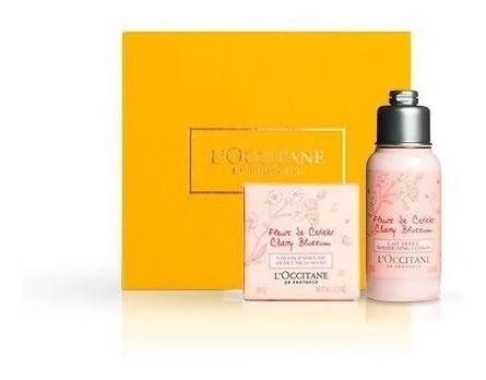 Loccitane - Kit Presente Cherry Blossom - Flor De Cerejeira