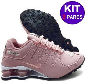 Tênis Nike Shox Nz Eu Original Preto Masculino (kit 2 Pares)