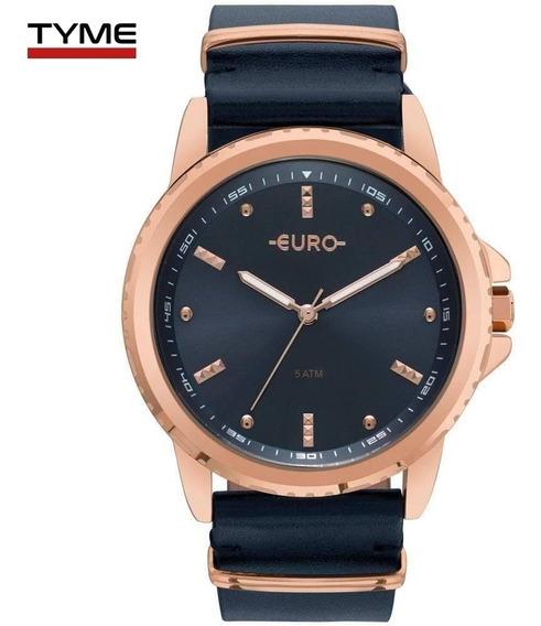 Relógio Euro Feminino Spike Basics Eu2035ynm/4a Rosé C/ Nfe