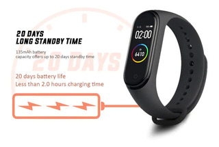 Relogio Smartwatch Xiaomi Miband 4. Lacrado Original
