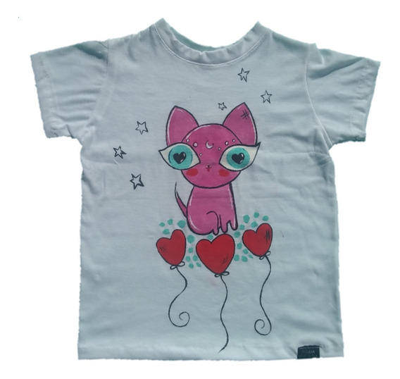 Remera Cat Love