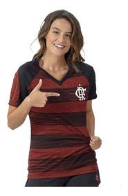 Camisa Flamengo Feminina Motion Braziline