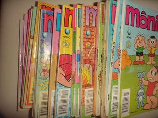 Lote Monica 82 Edicoes Editora Globo 1987 Otima Frete Gratis
