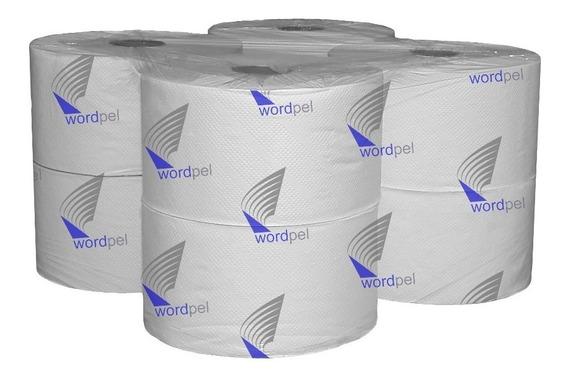 Papel Higiénico Wordpel 8 X 300 Blanco