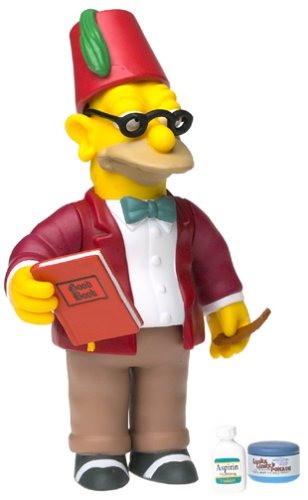 The Simpsons Sunday Best Grampa Playmates