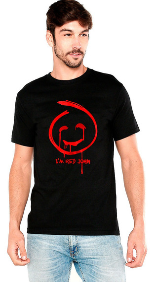 Playera Red John Mentalista Series Tv Sangre