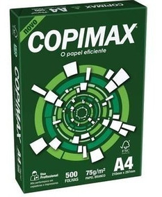 Papel Copimax Profissional A4 Branco - Pacote 2500 Folhas