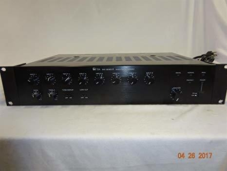 Amplificador Toa A-903mk2 8 Channel Mixer Amplificador ®