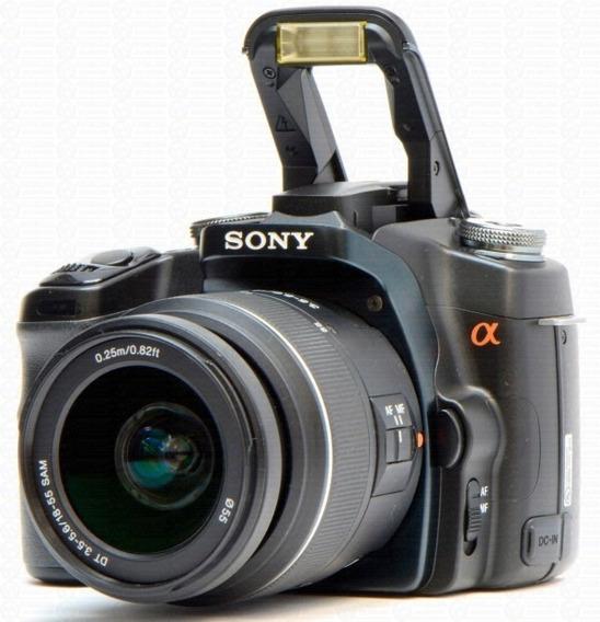 Câmera Profissional Dslr-a100 Sony Alpha