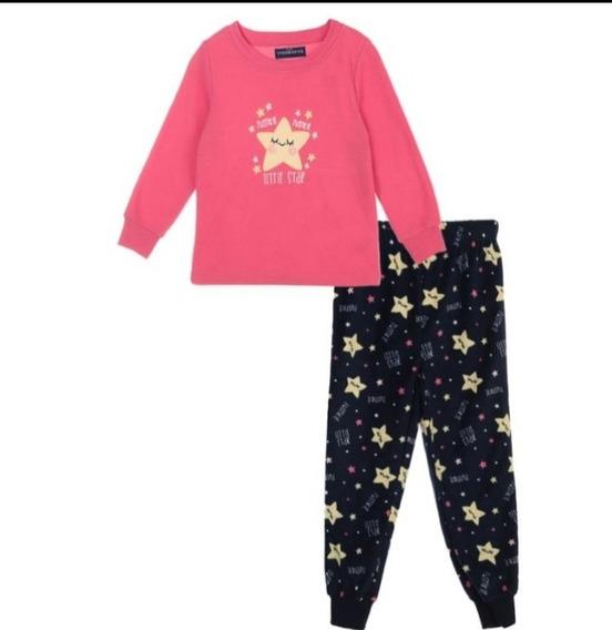 Pijama Para Niña Estrellas