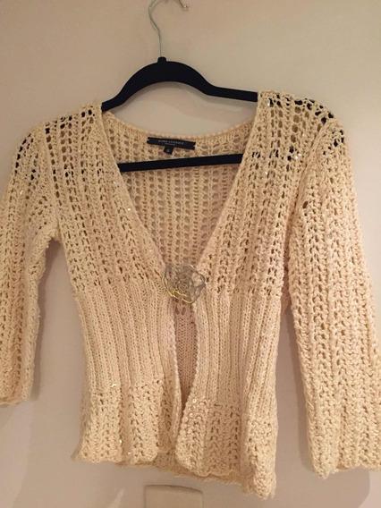 Sweater Saquito Cardigan Hilo Mujer Maria Vazquez