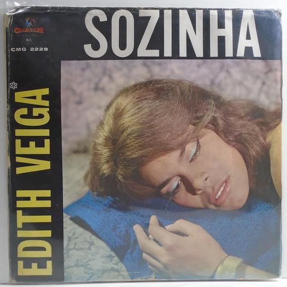 Edith Veiga 1963 Sozinha Lp Acho Graça / Sem Você