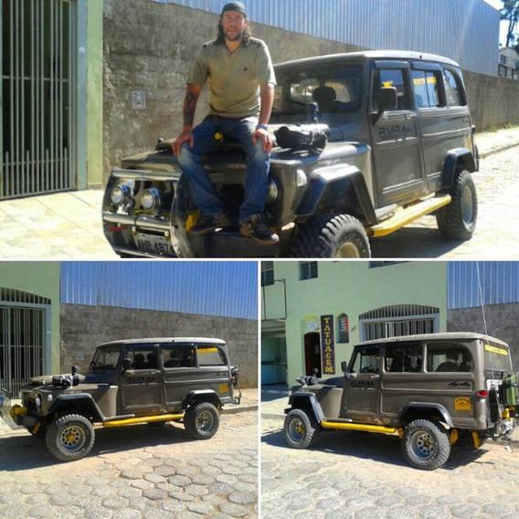 Rural Willys 4x4 Turbo Diesel Intercooler Jeep Abaixou!