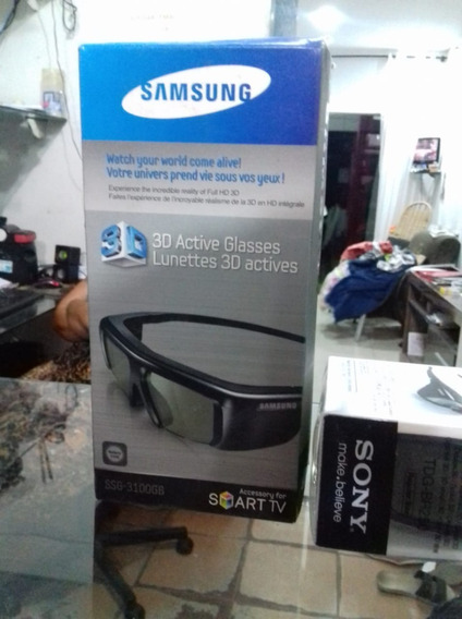 Oculos 3d Samsung Active Glasses Original Novo Na Caixa