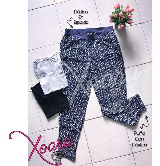 Babuchas Estampadas Fibrana Mujer - Xoara Jeans