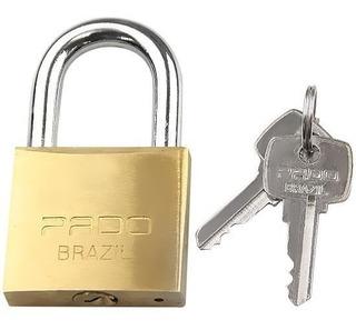Cadeado Pado 25 Mm Com 2 Chaves - Novo - Brasil