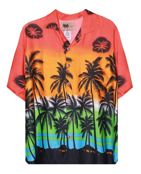 Camisa Hawaiana Para Caballero 100% Rayón Varios Modelos