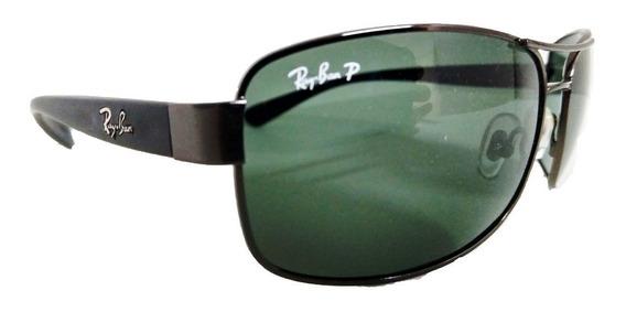 Oculos De Sol Rayban Demolidor Rb3379 Polarizado