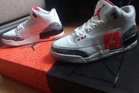 Jordan Retro 3 White Cement