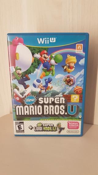 New Super Mario Bros. U + New Luigi Bros. U Nintendo Wii U