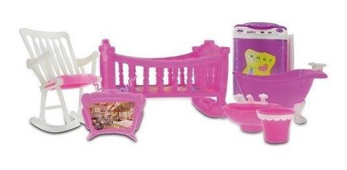 Imagen 1 de 5 de Set De Accesorios Little Pet Baño Y Dormitorio Original