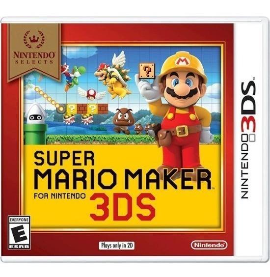 Jogo Super Mario Maker - Nintendo 3ds - Novo - Física
