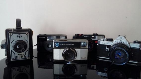 Cameras Fotograficas Antigas Lote Com 5