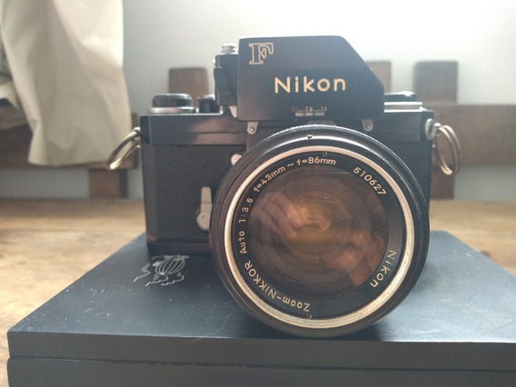 Nikon F Photomic Ftn, C.1969 W/zoom-nikkor Auto 43-86mm F/3
