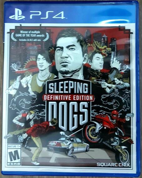 Jogo Ps4 Sleeping Dogs Definitive Edition Seminovo