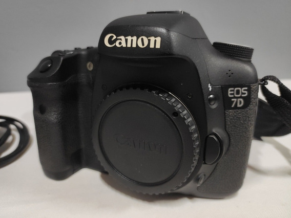 Canon 7d Só 22mil K
