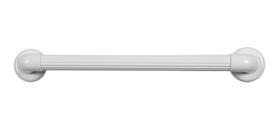 Barra De Apoio Para Banheiro Astra Bp36/7 70cm Pvc Branca