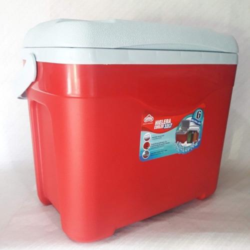 Hielera Polar Mediana De 32 Litros Cooler Guateplast.nueva,