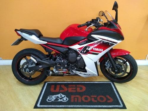 Yamaha Xj6-f Abs 2016 Vermelha