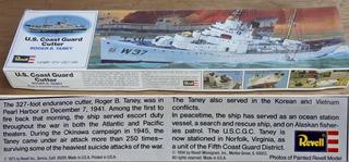 Revell U S Coast Guard Cutter Roger B. Taney Escala 1/302
