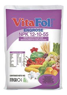 Fertilizante Foliar Npk 12-10-55