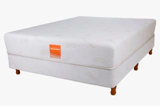 Sommier Y Colchon Sensorial 200 X 200 Con Pillow Memory