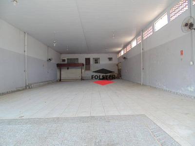 Salão Para Alugar, 250 M² Por R$ 3.700/mês - Jardim Belo Horizonte - Santa Bárbara D